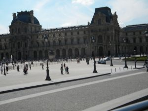 The Louvre was walking distance from the hotel.