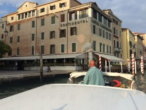 Hotel Continental from the Water Taxi